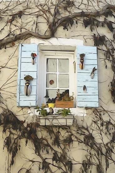 F2161435-Fenêtre sur la Provence