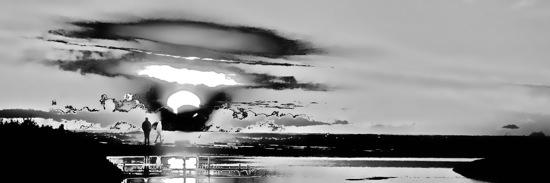 AB162582-Couple mixte et soleil noir