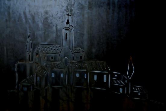 F2161556-Jean Lumière : La petite Eglise