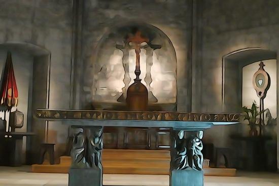 F2222570-Christ à l'Autel