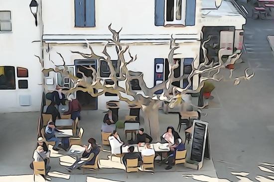 F2273625'-Déjeuner en terrasse