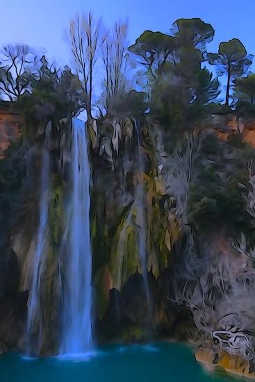 F3275832-Aquarelle en cascade
