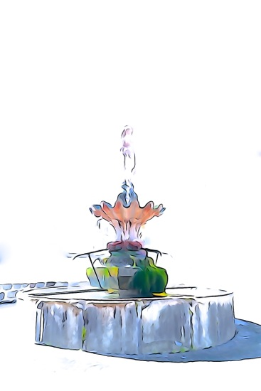 F4127163-Laz fontaine en fleur !