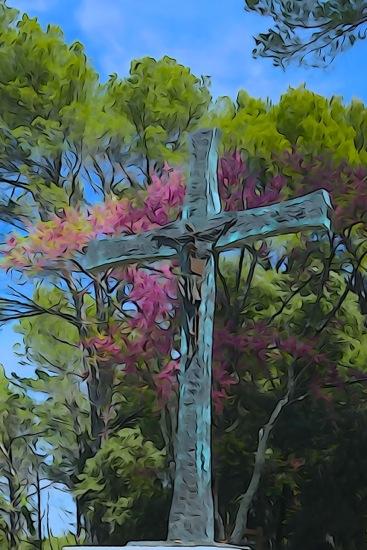 F4208390-Christ au printemps !