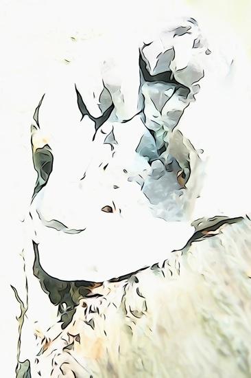 F5219588'-Visage pâle