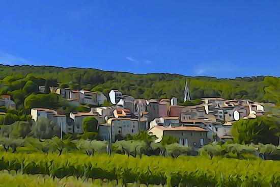 F5311476-Village en Provence