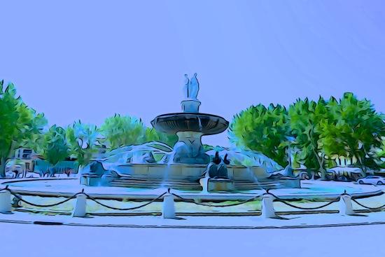 F7052535-La Fontaine de la Rotonde