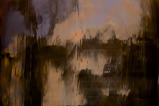 F8136414-Crépuscule sur le port