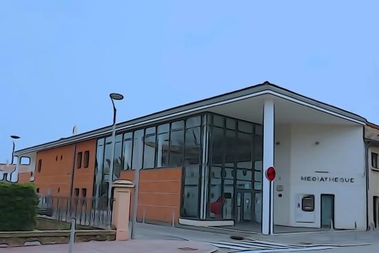 H3041125-Le Cannet-La Médiathèque