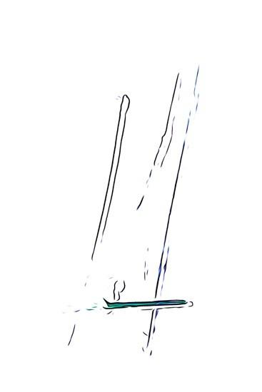 H8116756-Traits de plume